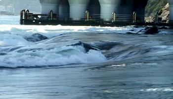 速い濁流の発生